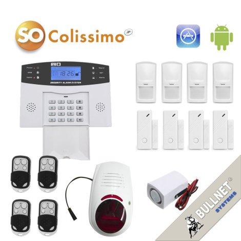 Le kit alarme de bullnet pour la protection de votre maison de 4-5 pièces